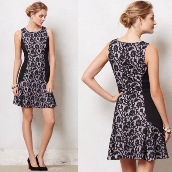 2de5a57f27832 Anthropologie Dresses | Maeve Sirena Black Lace Dress | Poshmark
